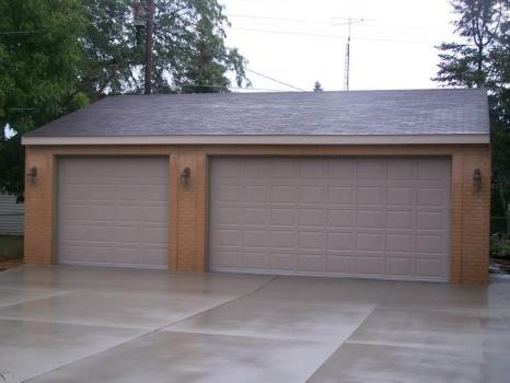 Single and Double Garage Door